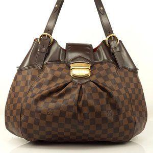 Auth Louis Vuitton Sistina Gm Shoulder #5905L61